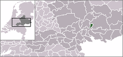 Location of Doesburg