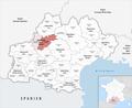 Locator map of Arrondissement Montauban 2019.png