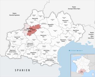 Arrondissement of Montauban Arrondissement in Occitanie, France
