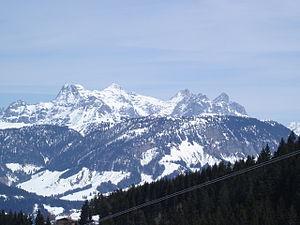 Lofer Mountains - Image: Loferer Steinberge südwest