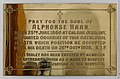 Longford St. Mel's Cathedral Central Vestibule Memorial Plaque Alphonse Haan 2019 08 23.jpg