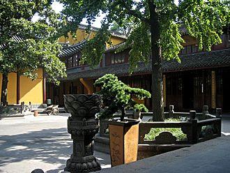 Longhua Temple - Longhua Temple inner courtyard