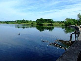 Sutton Park - Image: Longmoor Pool Summer 2007