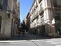Looking north along Carrer Castaños, Alicante. 16 July 2016.JPG