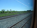 Looking out the left window on a trip from Union to Pearson, 2015 06 06 A (420) (18456107499).jpg