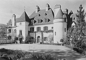 Pierre Lorillard II - Lorillard residence in Tuxedo Park, 1934