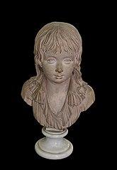 Bust of Louis Charles Dauphin of France-Louis Pierre Deseine-MV 8523
