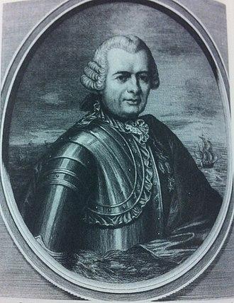 Siege of Louisbourg (1758) - Louis-Joseph Beaussier de l' Isle