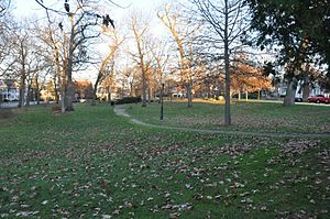 Tyler Park Historic District - Image: Lowell MA Tyler Park