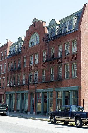 Howe Building - Image: Lowell MA Howe Building