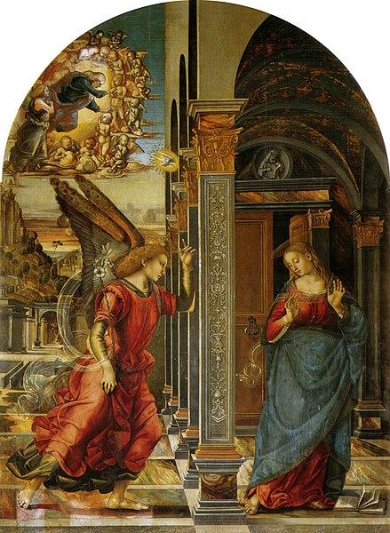 Archivo: Luca Signorelli, Annunciazione di volterra.jpg