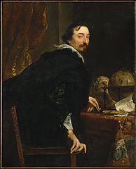 Portrait of Lucas van Uffel (died 1637)