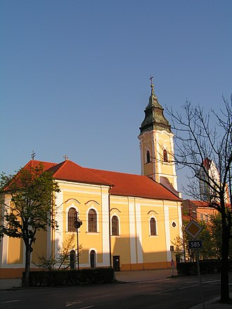 Lučenec - Image: Lucenec Church 2