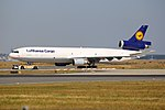 "Lufthansa Cargo McDonnell Douglas MD-11F ""Buongiorno Italy"" (29857307326).jpg"