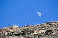 Luna saliendo por la zona arqueológica Lomo Los Gatos.jpg