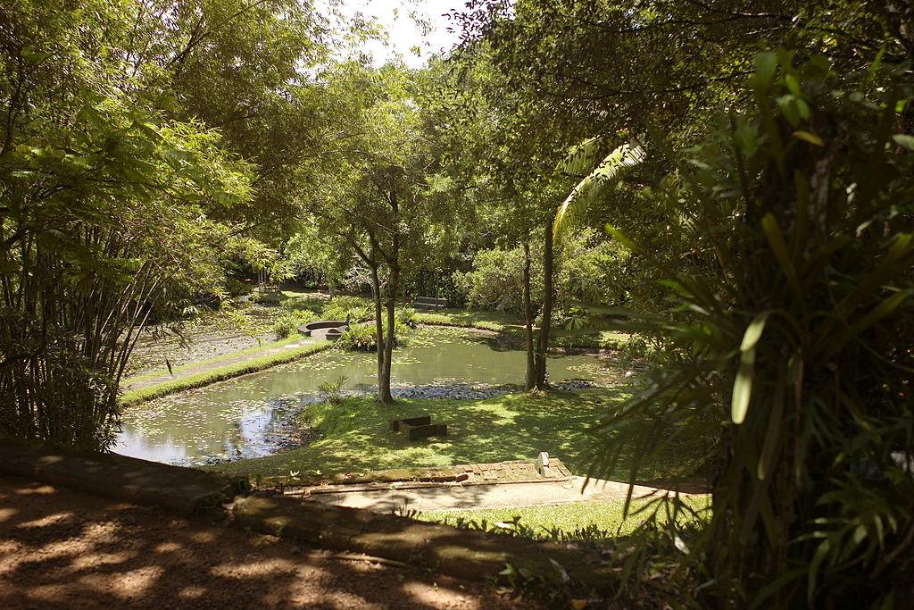 Lunuganga, Bentota, Sri Lanka.