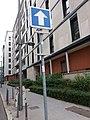 Lyon 3e - Rue de la Buire, panneau manquant.jpg
