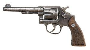 Smith & Wession M&P Victory model revolver. (P...