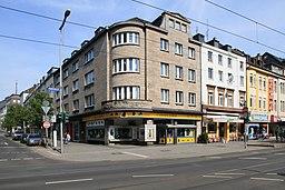 Wallstraße in Mülheim an der Ruhr