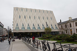 Musée d'ethnographie de Genève - Façade of the new building