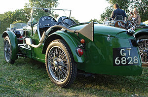 MG C-type - The pointed tail of the C-type