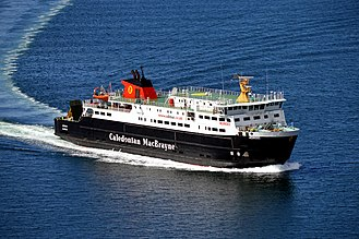 MV Hebrides - Image: MV Hebrides Approaching Uig, Skye, 9 May 2015