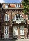 foto van Woonhuis in eclectische bouwstijl, met diverse Jugendstil-elementen.
