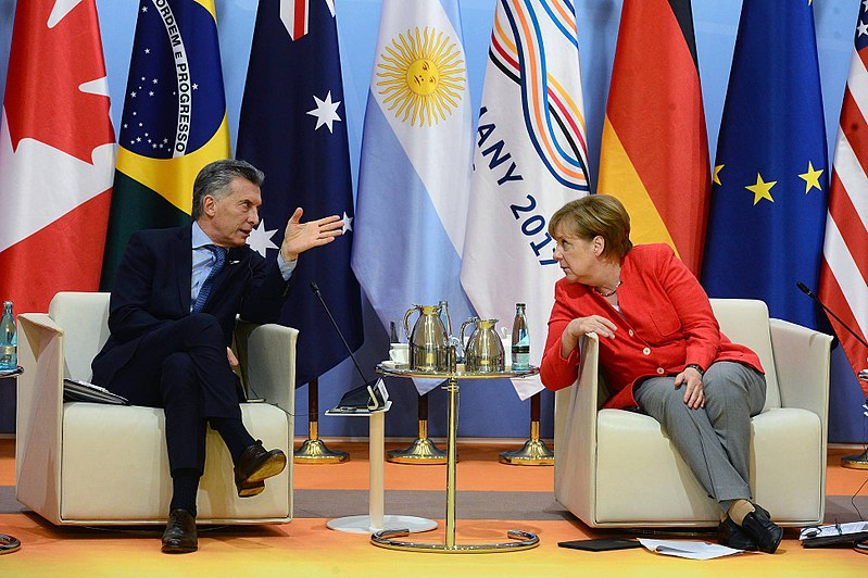 File:Macri & Merkel G20 2017 summit.jpg