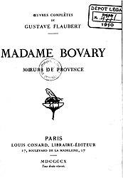 গুস্তাভ ফ্লোবের: Madame Bovary