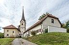 Magdalensberg St. Thomas Pfarrhof Mesnerei und Pfarrkirche hl. Thomas 04102019 7206.jpg