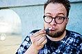 Magician Kyle Marlett with chapstick.jpg