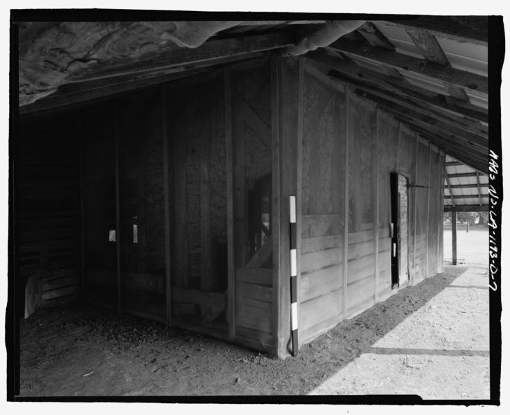 File:Magnolia Plantation, Blacksmith Shop, LA Route 119, Natchitoches, Natchitoches Parish, LA HABS LA,35-NATCH.V,2-D-7.tif