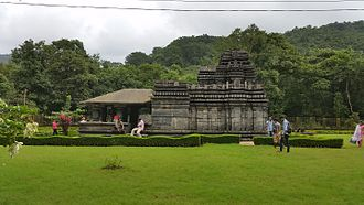 Goa - The Mahadeva Temple, attributed to the Kadamba period.