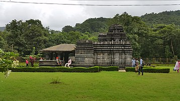 Mahadev Temple, Tambdi Surla (12th century).jpg