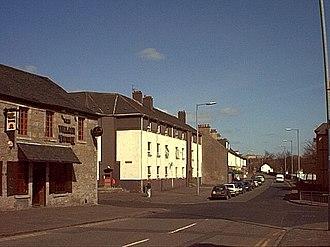 Duntocher - Image: Main Road, Duntochter, Dunbartonshire