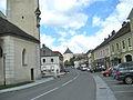 Main Street in Ottenschlag, looking towards Ottenschlag Castle.JPG