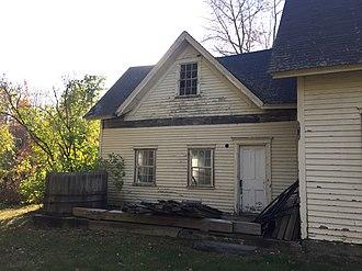 Wall dormer - Maine Farmhouse Wall Dormer. Circa 1820.