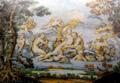 Majolica Ceramic Tile from the Castello Sforzesco, Milan, Italy, by Ferdinando Maria Campani, 1737.png