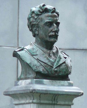 Willie Redmond - Major William Redmond bronze bust