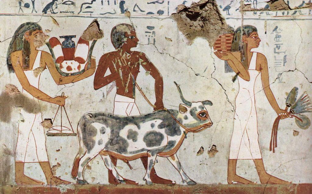 File maler der grabkammer des amenemh t for Beni hasan mural