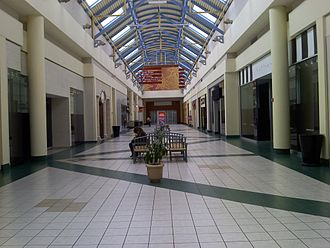 Mall at The Source - Many of the mall's tenants left after the closure of the anchor stores.