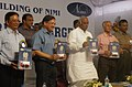 Mallikarjun Kharge releasing the souvenir at the inauguration of the Silver Jubilee Building of National Instructional Media Institute (NIMI) in Chennai. The Secretary, Ministry of Labour and Employment.jpg