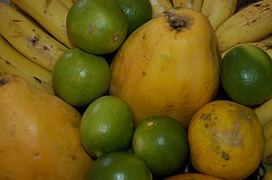 English: some tropical fruits foto I took at home