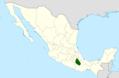 Mammillaria sphacelata range map.png