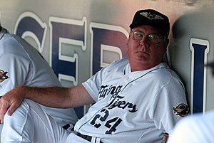 Manager Dave Huppert pre-game (7978654080).jpg