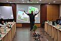 Manash Bagchi - Presentation - Technology for Museums - VMPME Workshop - NCSM - Kolkata 2015-09-08 3146.JPG
