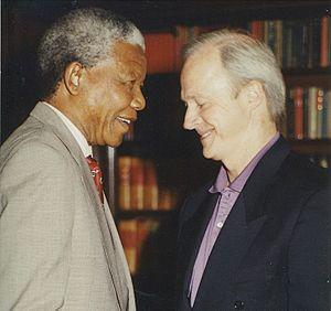 Dick Batchelor - Image: Mandela and Batchelor