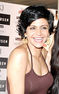 Mandira Bedi at Van Heusen Men's Fashion Week model auditions 06 (cropped).jpg