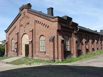Military Museum's Manege - Image: Maneesi 2013