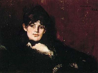 Manet - Berthe Morisot ruhend